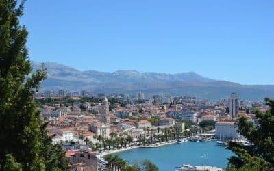 zeilen vanuit Split